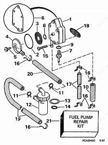 Evinrude 1997 25 - He25rslv  Fuel Pump