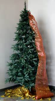 party ideas by mardi gras outlet quick christmas tree decorating with tinsel ties and deco mesh