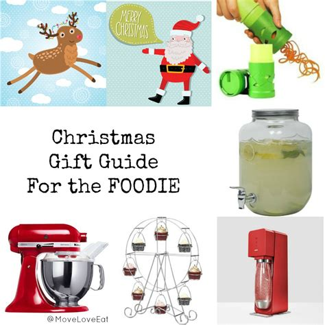 christmas gift guide for the foodie move love eat