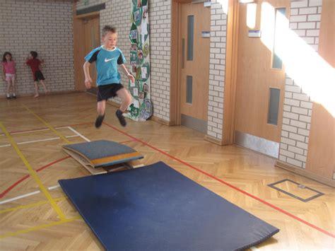 springboard jump | Primary 2P @ Sanderson's Wynd