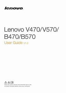 Lenovo V470 Notebook Download Manual For Free Now