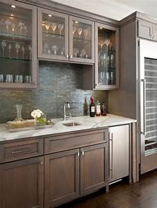 kitchen bar cabinet Home Bar Traditional with bar glass