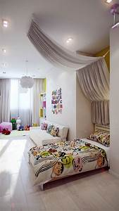 Attractive, Girls, Bedroom, Decorating, Ideas, With, Beautiful