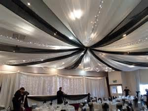 ceiling draping creative cover hire