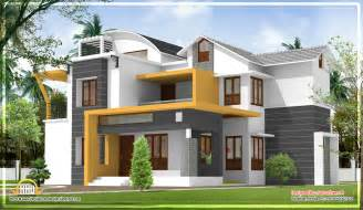 modern style house plans modern contemporary kerala home design 2270 sq ft