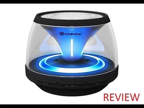 eachine jar wireless portable speaker with led