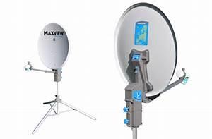 Maxview Precision 55cm Portable Tripod Satellite Kit