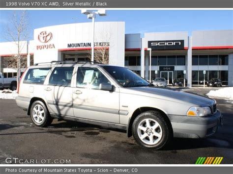 1998 Volvo V70 Awd by Silver Metallic 1998 Volvo V70 Xc Awd Black Interior