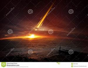 Earth Extinction Event Royalty Free Stock Image - Image ...