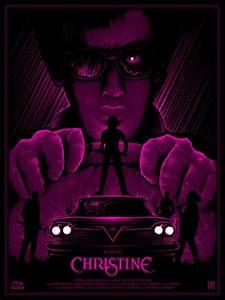 Frightfest Originals Horror and Sci-fi Movie Posters ...  Christine