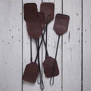 Leather + Steel Fly Swatters - The Green Head