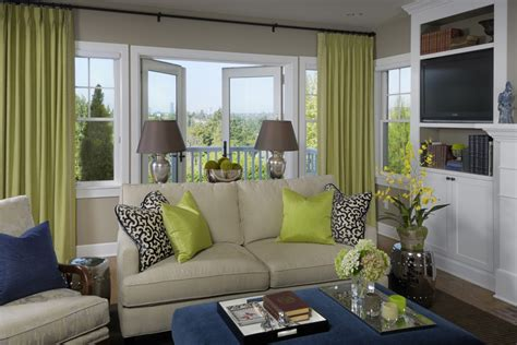 Lime Green And Grey Living Room Ideas  los angeles 2021