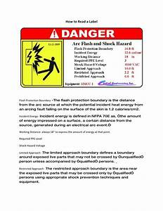 How to read arc flash labels for How to read arc flash labels