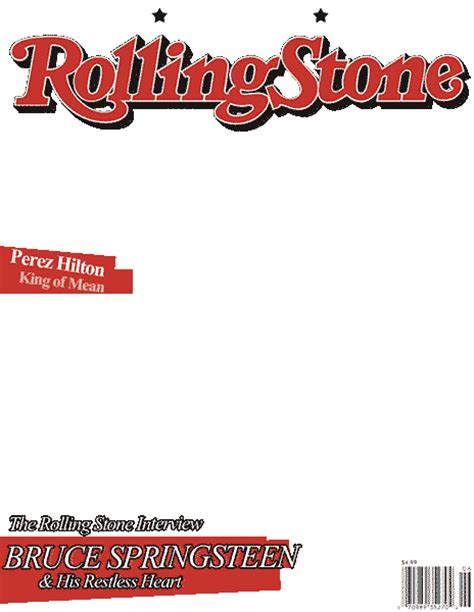 Rolling Magazine Cover Template by Best Photos Of Magazine Cover Templates Blank Times