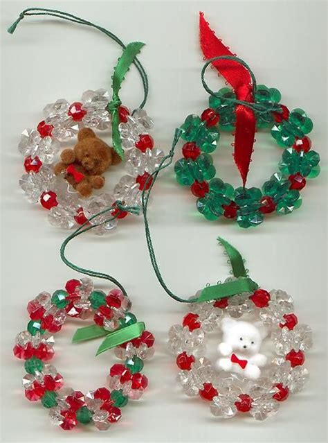 284 best beaded christmas figures models images on
