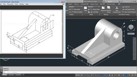 3d Home Design Tutorial Pdf by Autocad 2015 3d Tutorial For Beginners
