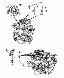 2002 Jeep Liberty Cable Package  Ignition    1  4     2  3