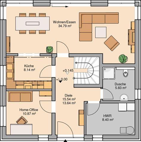 Kinderzimmer Grundriss Beispiele by H 228 User Kern Haus Stadtvilla Und Erdgeschoss