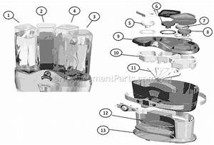 Sunbeam Nbmgmd3000 Parts List And Diagram