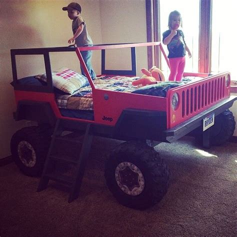 kids red jeep red jeep bed kids jeep red boys ideas for