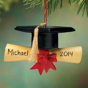 personalized graduation cap ornament christmas miles kimball