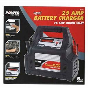 Philips Auto Lighting Vector Power On Board 25 Amp Battery Charger