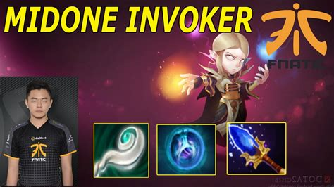 midone invoker high skill combo dota 2 gameplay highlights montage and pro plays youtube