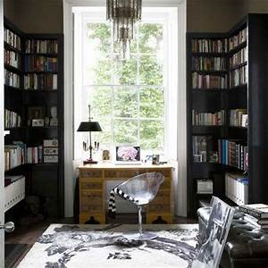 34 Fresh Ideas for Decorating a Home Office Area ...