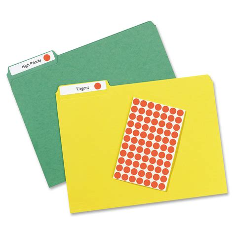 Avery Round Removable Color Coding Labels Ave05051