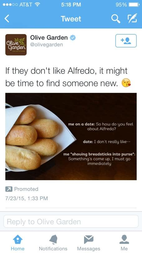 Olive Garden Meme Olive Garden Has Found The Breadsticks Meme Fellowkids