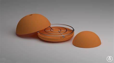 coleman kachel egloo candle powered terracotta dome heater by marco