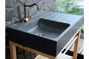 Evier Cuisine En Pierre : norway vier en pierre pour cuisine granit v ritable ~ Premium-room.com Idées de Décoration