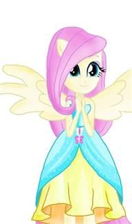 Cute My Little Pony Equestria Girls Fluttershy