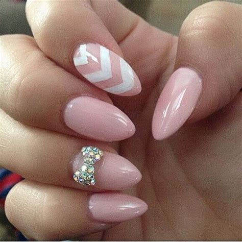 almond nails design 20 beautiful almond nail designs for creative juice
