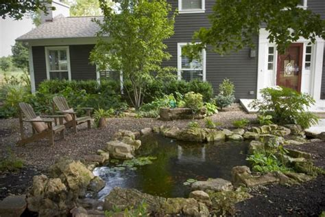 water for front yard front yard water features boost your curb appeal c e pontz sons landscape contractors