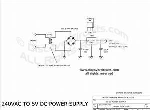 120vac Schematic Wiring : circuit 240vac to 5vdc power supply circuit designed by ~ A.2002-acura-tl-radio.info Haus und Dekorationen