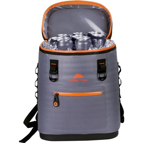 ozark trail premium soft side backpack cooler yeti