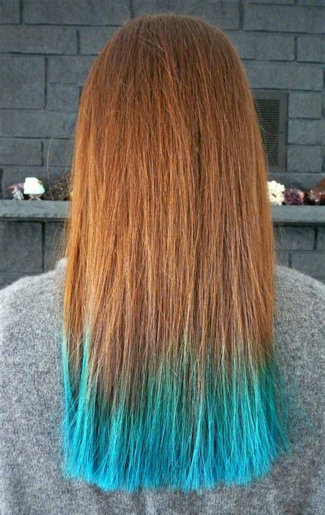 Colors To Dye Hair by Two Years Of Turquoise Dip Dyed Hair Rainbow Hair Faq