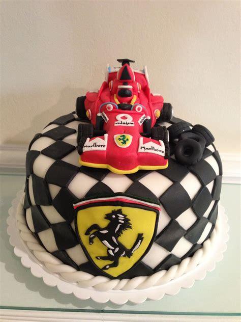 formula  ferrari cake netes custom cake design