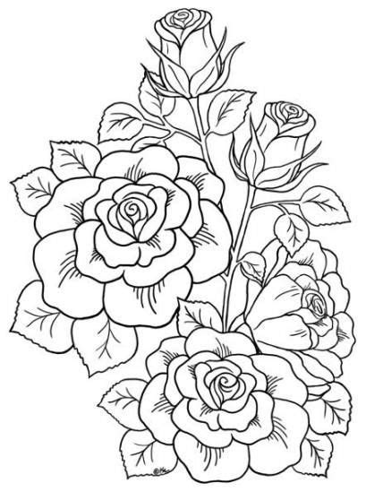 24+ New Ideas For Flowers Drawing Tattoo Coloring Books #drawing #tattoo #flowers | Tattoo
