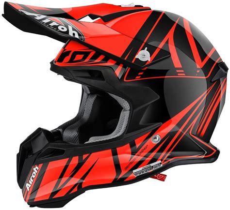 airoh motocross helmet airoh terminator 2 1 cut motocross helmet black orange