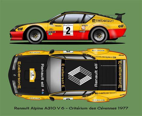 renault alpine a310 rally renault alpine a310 race car design pinterest