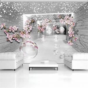 Tapete Blumen Modern : fototapete tapete 3d magischer tunnel mit blumen 320176 pmvt ebay ~ Eleganceandgraceweddings.com Haus und Dekorationen