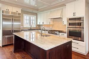 Custom Dark Stained Hickory Flooring - Traditional