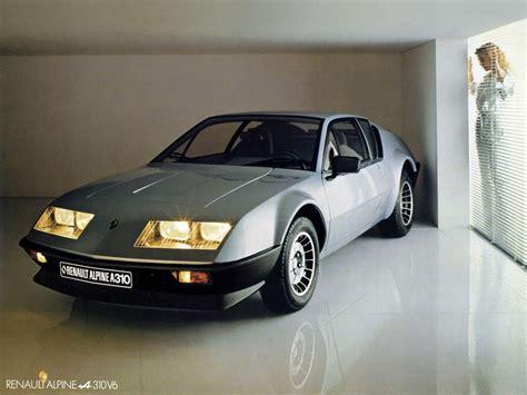 renault alpine renault alpine a310 specs 1977 1978 1979 1980 1981