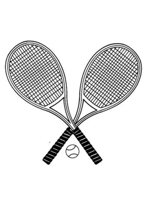 ausmalbilder tennisschlaeger spielsachen malvorlagen ausmalen