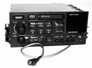 Gmc Chevy Truck 1995-2002 Am Fm Cassette Radio W Aux Input