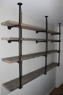 Two Shelf Bookcase Black by Sylvie Liv Industrial Rustic Shelf Tutorial