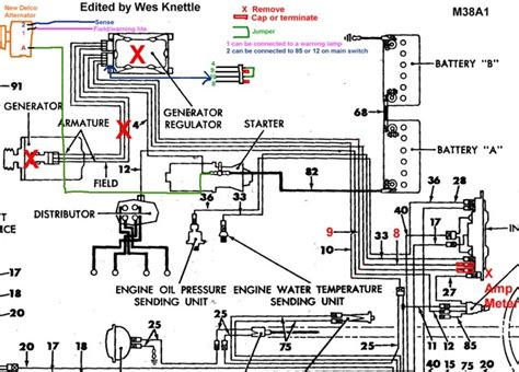 Willy Jeep Alternator Regulator Wiring by Willys M Jeeps Forums Viewtopic Alternator Conversion
