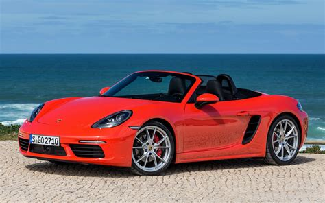 Porsche 718 Backgrounds by Porsche 718 Boxster S 2016 Wallpapers And Hd Images